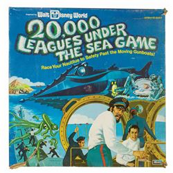 20,000 Leagues Under the Sea Board Game.