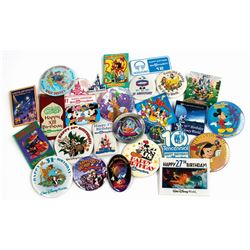 Set of (26) Walt Disney World Anniversary Buttons.