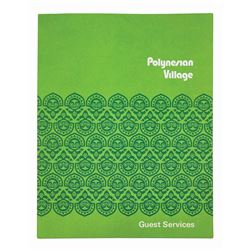 Polynesian Village Guest Services Packet.
