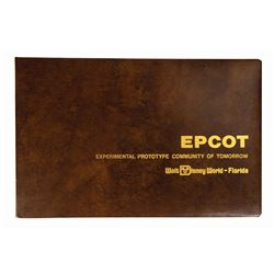 Epcot Center Pre-Opening Book.