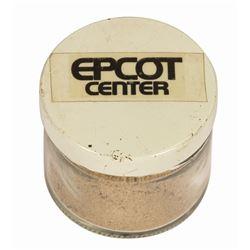 Epcot Center Groundbreaking Dirt.