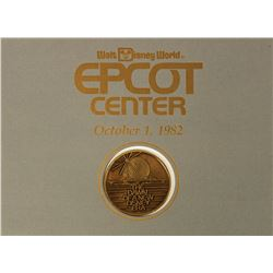 Epcot Center Opening Day Commemorative Coin.