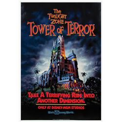 Tower of Terror Attraction Poster.