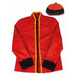 The Great Movie Ride Cast Member Jacket & Hat.