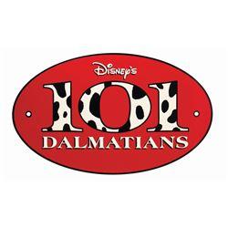 101 Dalmatians Studio Tour Backstage Pass Sign.