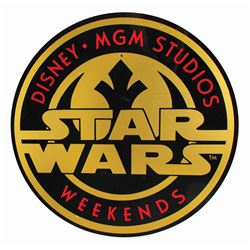 Star Wars Weekends Event Sign.