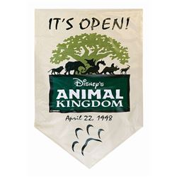 Opening Day Animal Kingdom Banner.