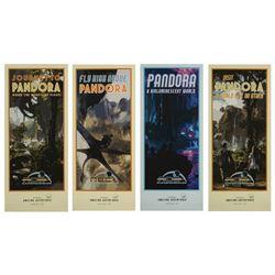 Pandora – The World of Avatar D23 Travel Poster Set.