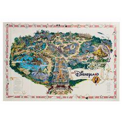 1992 Euro Disneyland Map.
