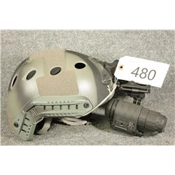 Military Helmet with Night Vision
