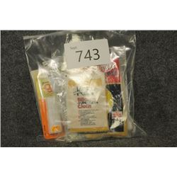 Bag of Cleaning Patches and Silicone Rags