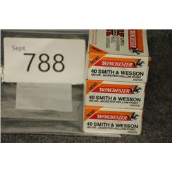 40 Smith and Wesson Ammo