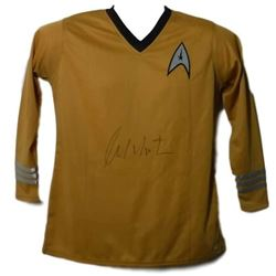"William Shatner ""Captain Kirk - Star Trek"" Autographed Yellow Captains Jersey"