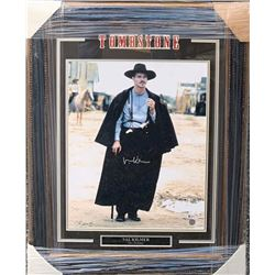 """Val Kilmer """"Doc Holliday - Tombstone"""" Autographed and Custom Framed 16x20 Photo"""