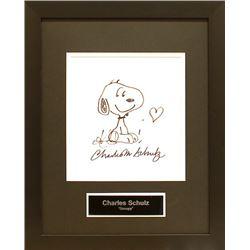 Charles Schulz Snoopy Sketch