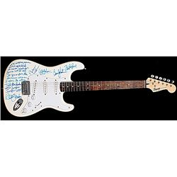 Beach Boys Limited Edition Numbered and Autographed Guitar