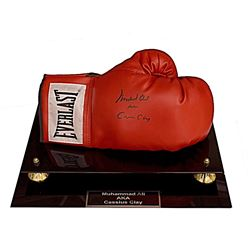 Muhammad Ali AKA Cassius Clay Autographed Boxing Glove