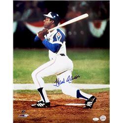 Hank Aaron Atlanta Braves Autographed Framed Photo