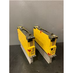 (2) - FANUC A06B-6114-H105_SERVO AMPLIFIER MODULES