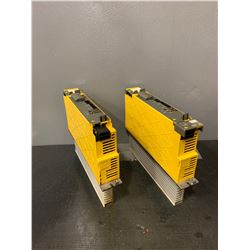 (2) - FANUC A06B-6114-H105_SERVO AMPLIFIER MODULES