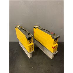 (2) - FANUC A06B-6114-H104_SERVO AMPLIFIER MODULES