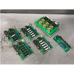 LOT OF MORI SEIKI CIRCUIT BOARDS *PART #'S PICTURED*