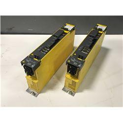 (2) FANUC A06B-6114-H205 SERVO AMPLIFIER MODULE