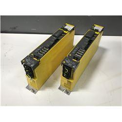 (2) FANUC A06B-6114-H302 SERVO AMPLIFIER MODULE