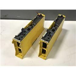 (2) FANUC A02B-0283-B801 CONTROL UNIT W/ A16B-3200-0421/16F