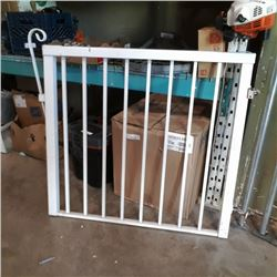 METAL GATE - APPROX 42 INCHES WIDE