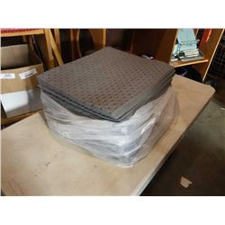LOT OF 100 SHEETS GREY SPILL PADS