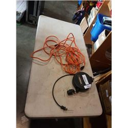 NOMA EXTENTION CORD ON REEL AND EXTENTION CORD