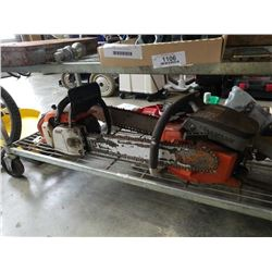 STIHL AND PIONEER GAS CHAINSAWS