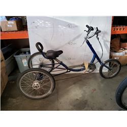 LARGE BLUE TRICYCLE