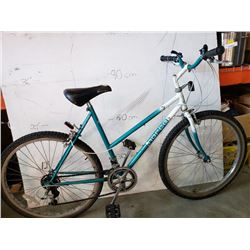 TEAL/WHITE NORCO BIKE