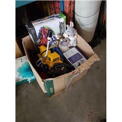 BOX OF DISNEY, TOYS, SPORTS GEAR