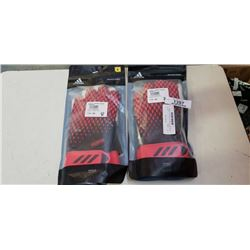 2 NEW PAIRS OF ADIDAS SOCCER GOLTENDING GLOVES