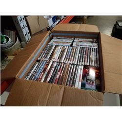 TRAY OF DVDS