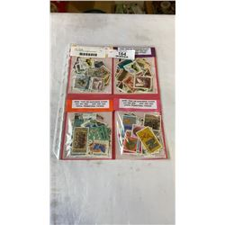 4  100 VARIOUS STAMP PACKAGES
