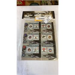 LIMITED EDITION SERIES 2 STAMP CARDS - BELIVEAU, BOHALL, SWCHUK, ETC