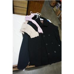 10 JACKETS - 3 MENS 7 WOMENS VARIOUS SIZES