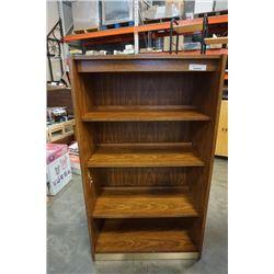 Illuminated 4 tier shelf