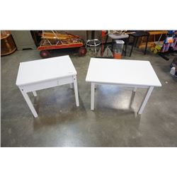 KID LIFT TOP DESK AND TABLE