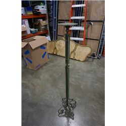 4ft decorative metal candle stand