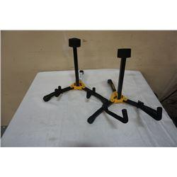 2 HERCULES MINI GUITAR STANDS