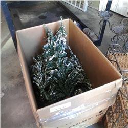 10 - 2 ft christmas trees