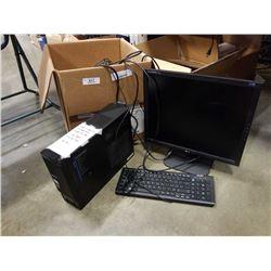 WINDOWS 10 DESKTOP COMPUTER 3GB RAM, 500GBHDD WITH PERIPHERALS