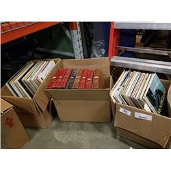 3 BOXES OF RECORDS