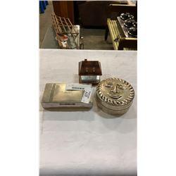 ARISTOCRAT EP BOX, GLASS HOUSE BOX AND LIDDED SUN DISH