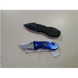 WARTECH AND MTECH FOLDING KNIVES